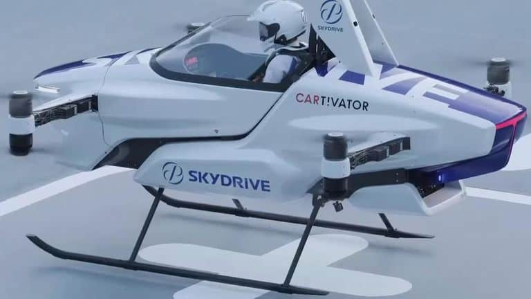 Future of mobility: Japan's flying car conducts first public manned flight