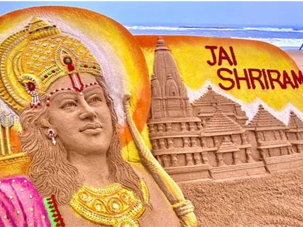 sudarshan_patnaik_sand_artist_ram_temple_updatenews360