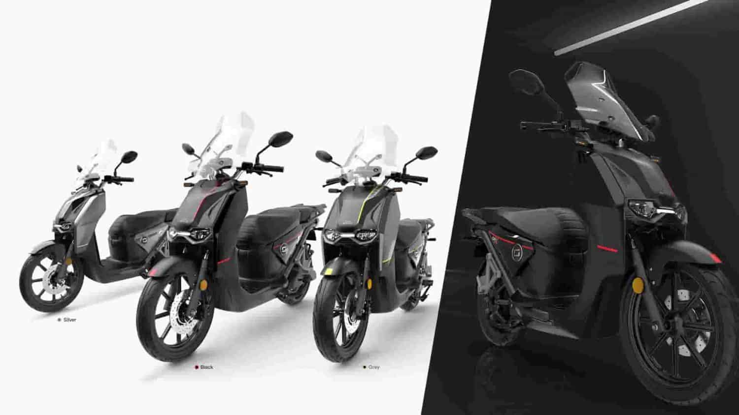 Super Soco has revealed its new electric maxi scooter. It is called the CPx and is claimed to be equivalent to a 125cc petrol scooter.