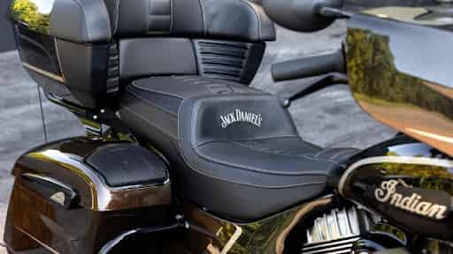 Indian Roadmaster Dark Horse Jack Daniel's edition revealed