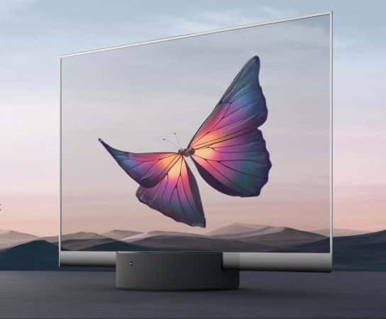 Xiaomi Unveils an Incredible 55-Inch Mi TV with a Transparent OLED Display