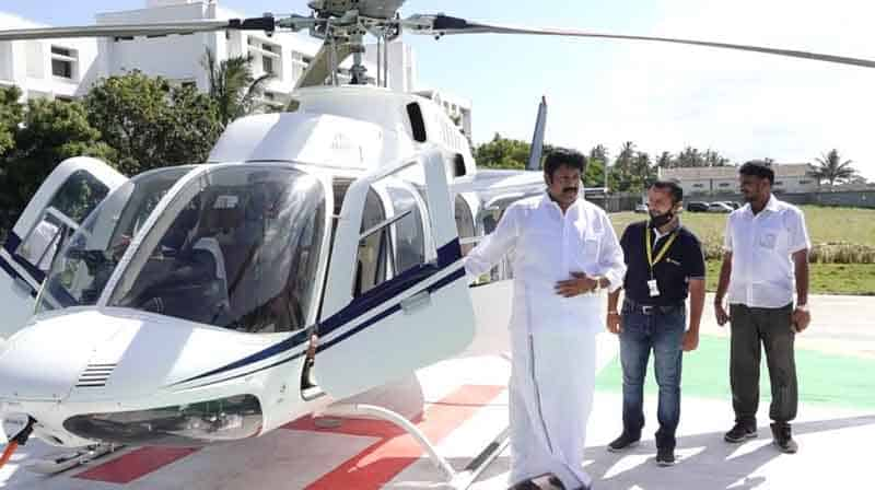Admk Executive Helicopter - updatenews360