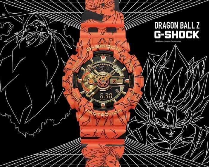 Casio India launches new G-Shock watches and one of them is Dragon BallZ limited edition