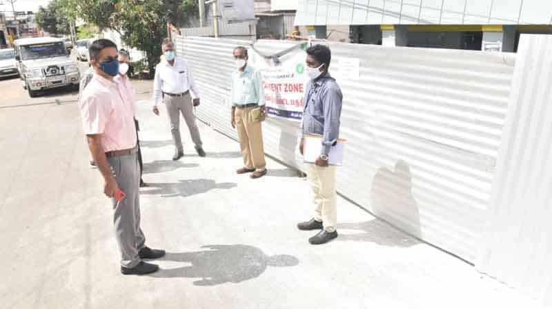 Coimbatore Corp Commissioner Inspection - updatenews360