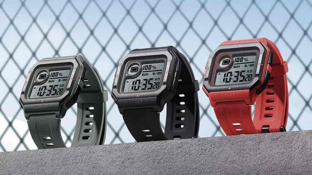 Huami's retro-inspired Amazfit Neo goes official