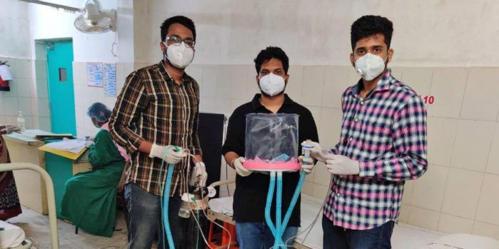 IIT-Bhubaneswar Students Develop Affordable Ventilation Device
