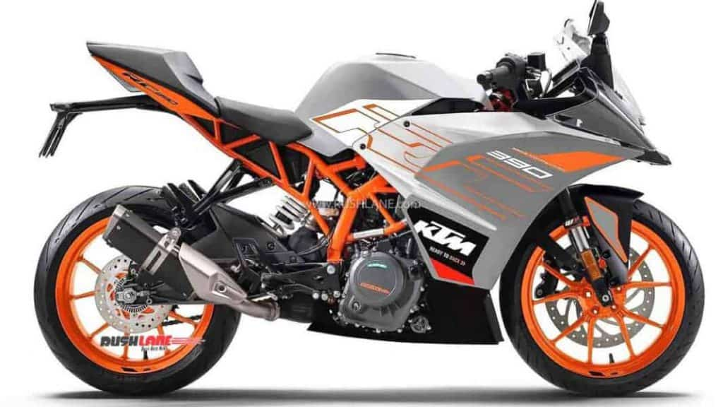 KTM RC 125 launched in India with new colour