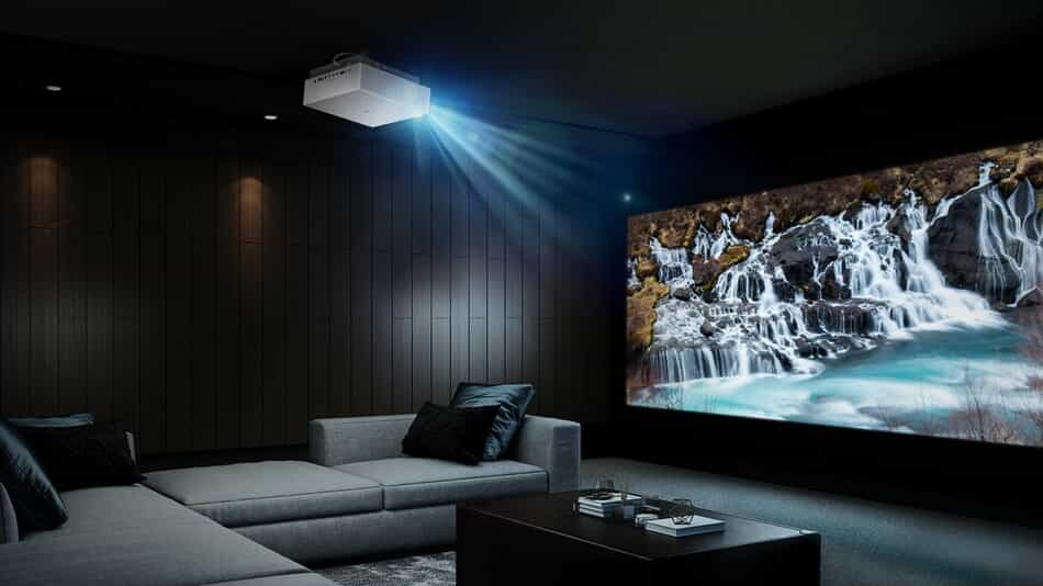 LG CineBeam 4K UHD Laser projector