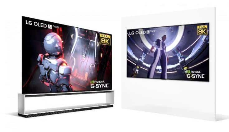 LG introduces new range of 8K OLED TVs