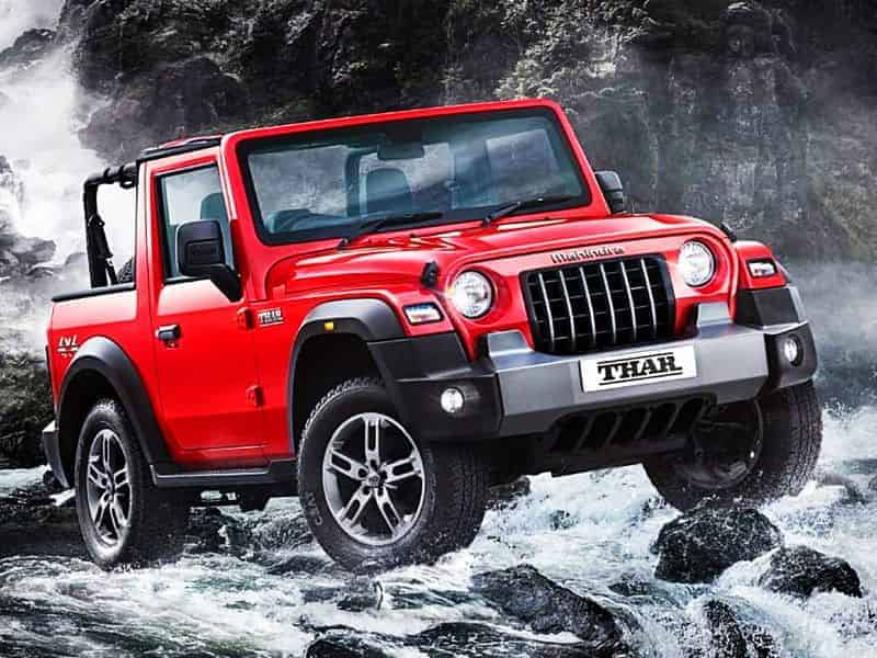 Mahindra Thar 2020 bookings to start from October 2