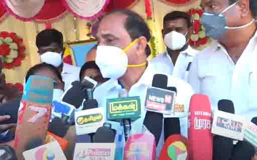 Minister Kadamboor - Updatenews360