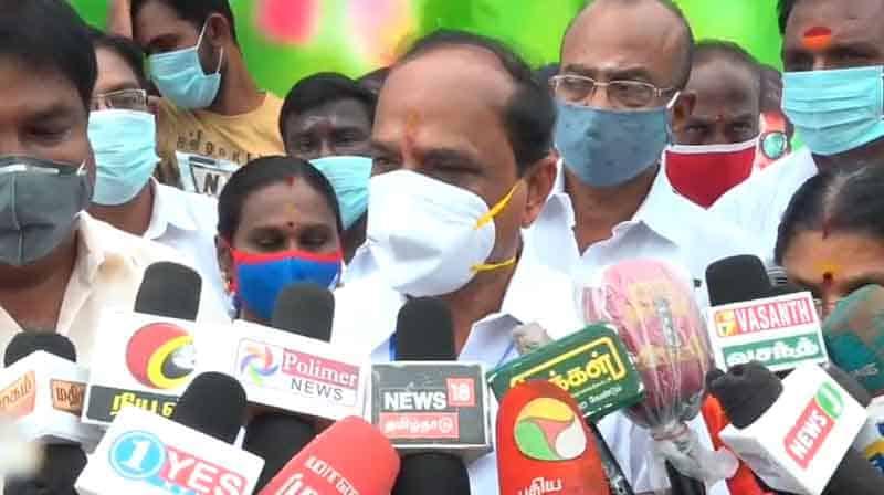 Minister Kadamboor raju - updatenews360