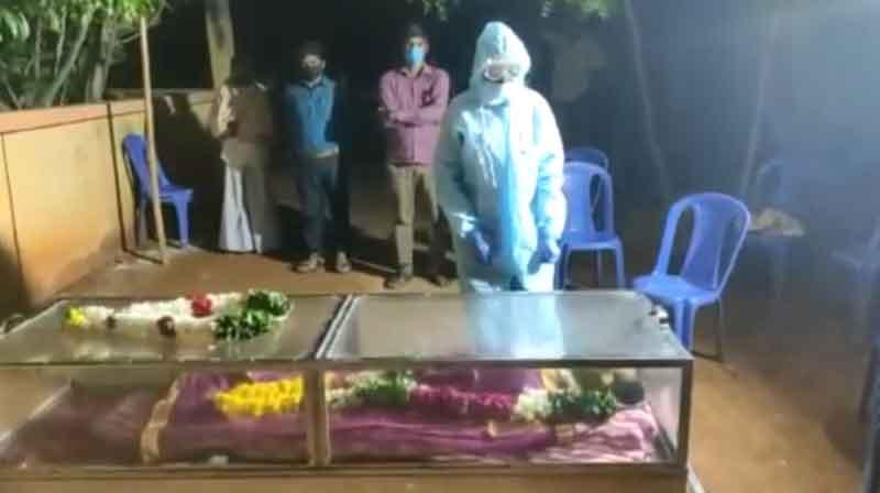Mother Dead Corona Son - updatenews360