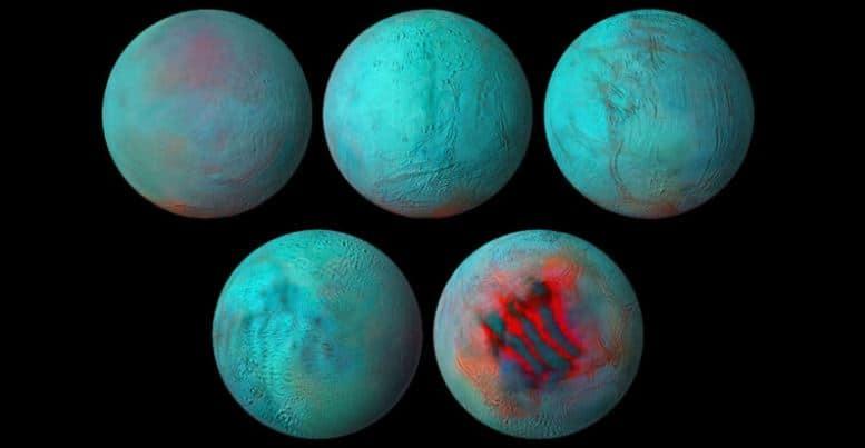 NASA finds evidence of Fresh Ice on Saturn Moon Enceladus