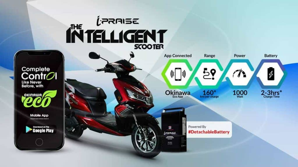 Okinawa introduces Eco App for iPraise Plus and Ridge Plus e-scooters