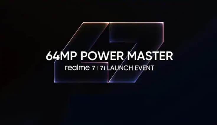 Realme 7i with 64MP quad rear cameras, 5000mAh battery to be announced