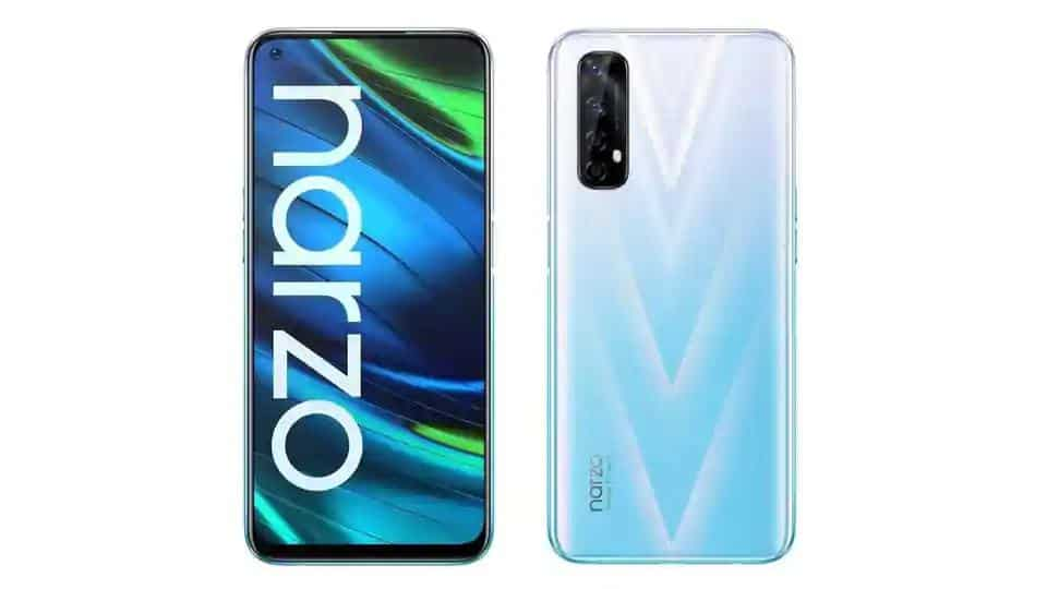 Realme Narzo 20 goes on sale today, check price, key specifications and more