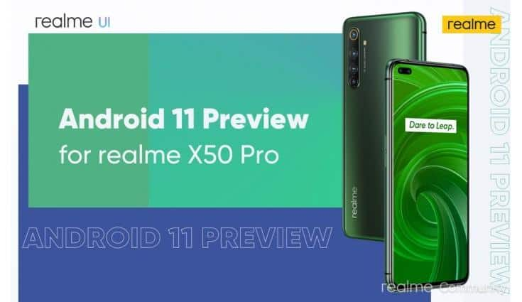 Realme is one of the first brands to offer Android 11 to its users