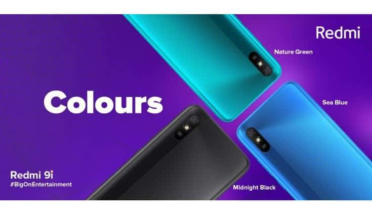 Redmi 9i launched in India