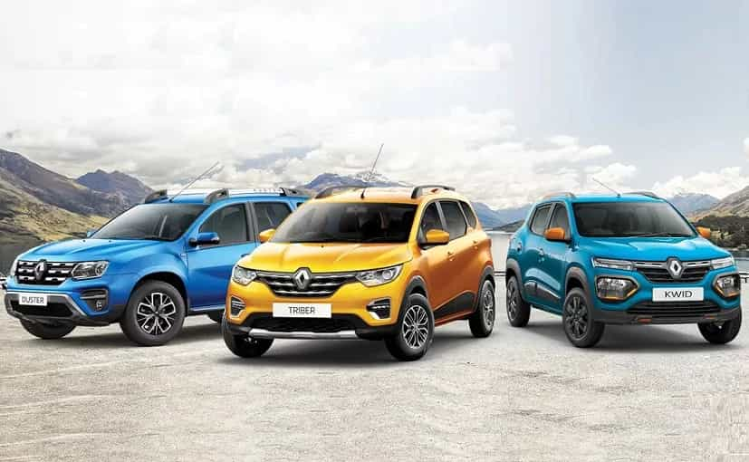 Renault Kwid, Triber and Duster