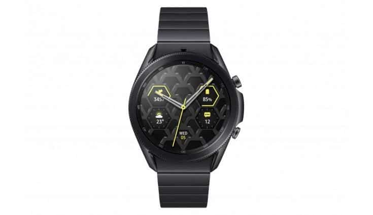 Samsung announces Galaxy Watch 3 45mm Titanium model
