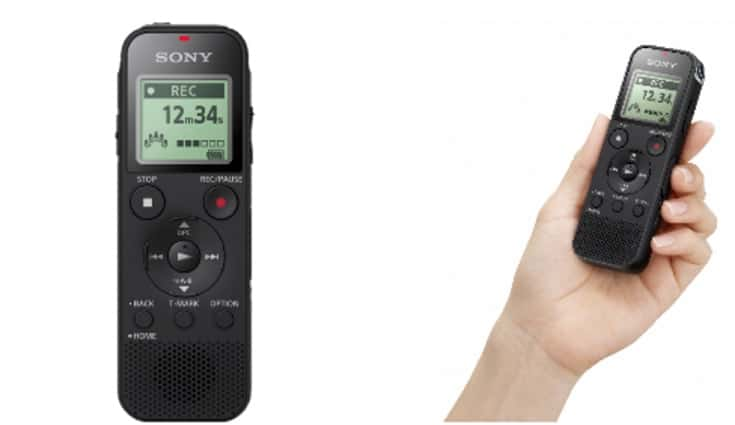 Sony ICD-PX470 digital voice recorder launched for Rs 4,990