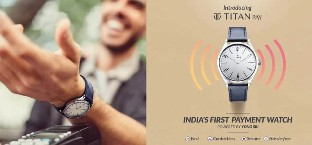 Titan launches five new contactless payment analogue watches in India