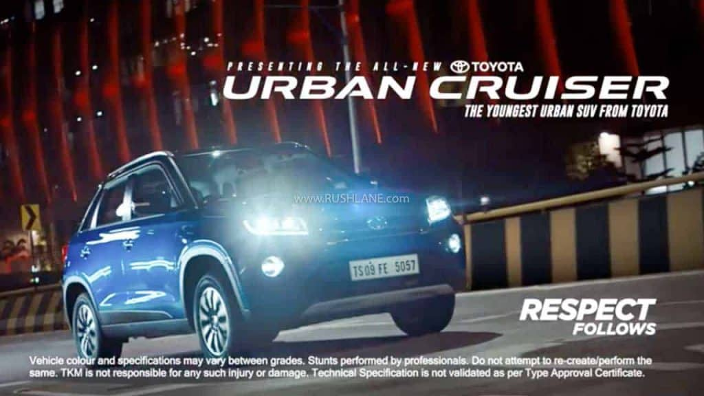Toyota Urban Cruiser SUV launched in India
