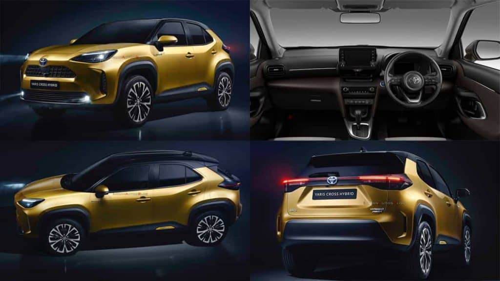 Toyota launches new Yaris Cross compact SUV with hybrid option