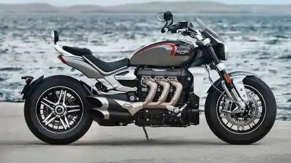 Triumph rides in Rocket 3 GT launched