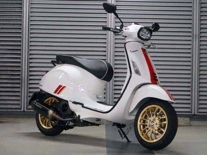 Vespa Racing Sixties launched in India at Rs 1.20 lakh