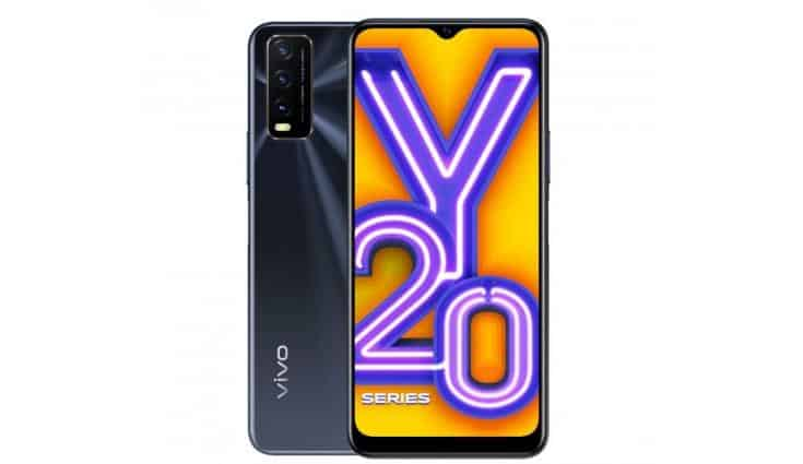 Vivo Y20 new variant with 6GB + 64GB storage launched