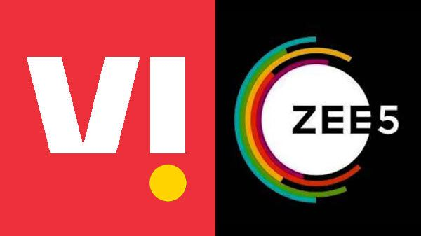 Vodafone-Idea Offering Zee5 Subscription With Five New Plans