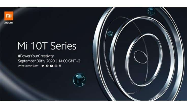 Xiaomi Mi 10T series set to debut on September 30