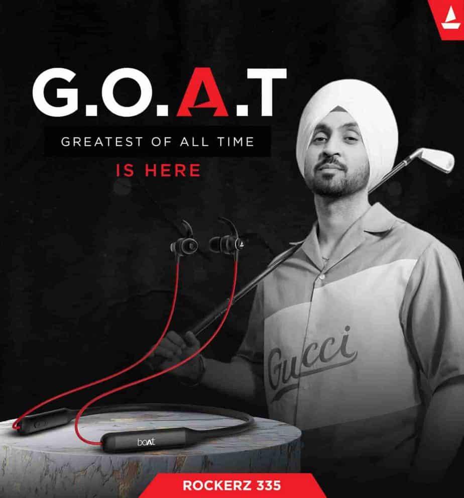 boAt Rockerz 335 wireless neckband headphones launched