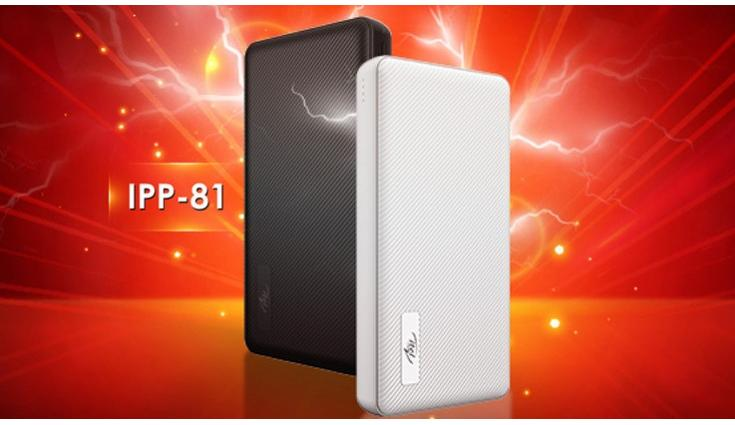 iTel IPP-81 fast-charging power bank launched in India for Rs 1,399