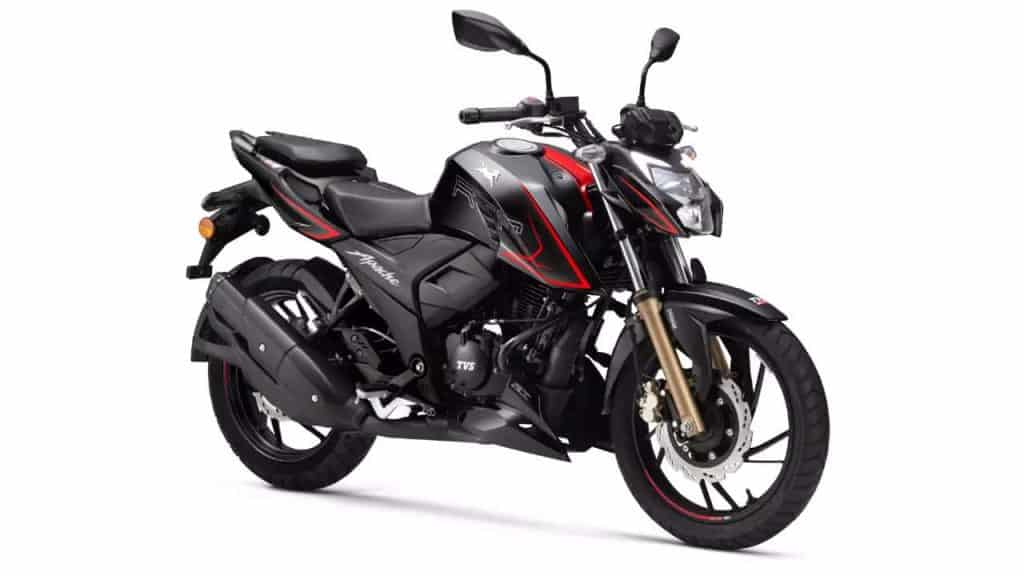 More affordable TVS Apache RTR 200 4V launched in India!