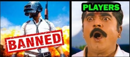 pubg banned in India Players Go crazy on social media