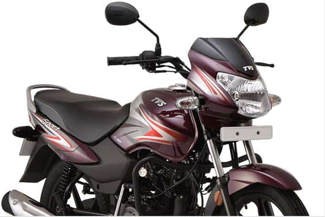 TVS Sport BS6 Registers Highest Fuel-Efficiency Enters Asia Book Of Records