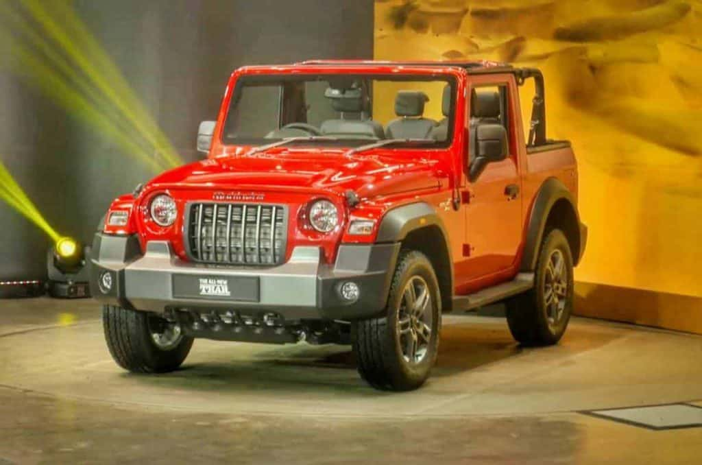 2020 All New Mahindra Thar launched in India