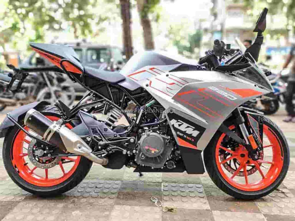 2020 KTM 390 Duke and RC 390 now get MRF tyres; no change in price