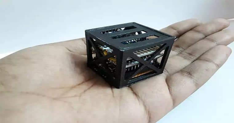 A Nano Satellite developed by TN students to be launched by NASA..