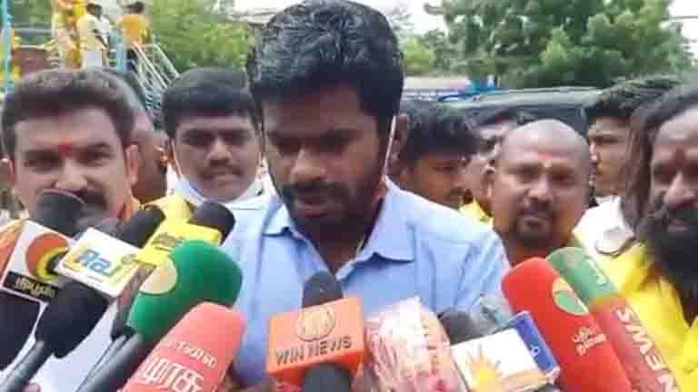BJP Annamalai- Updatenews360