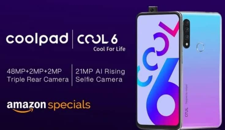 Coolpad Cool 6 teased to launch in India with triple rear camera