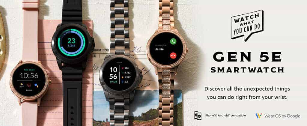 Fossil launches Gen 5E smartwatches Check specs, price here