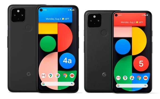 Google Pixel 5, Pixel 4A 5G smartphones with Android 11 launched