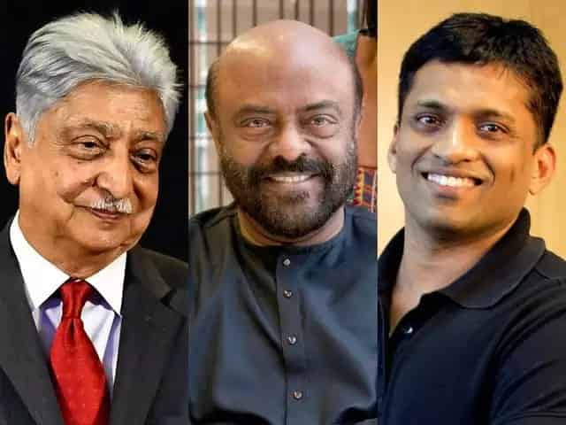 Here are the 10 richest Indians in the tech space
