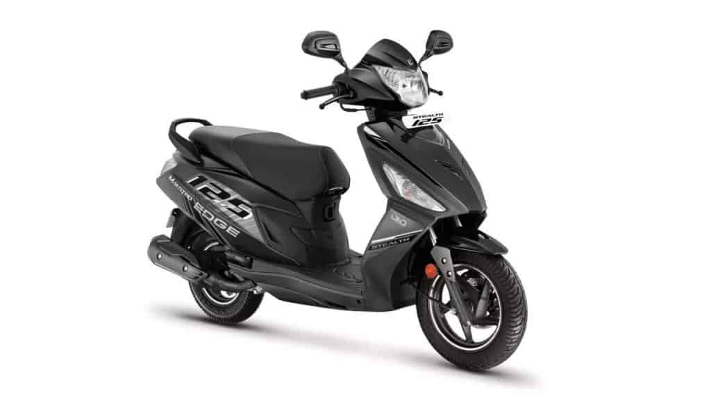 Hero Maestro Edge 125 Stealth edition launched