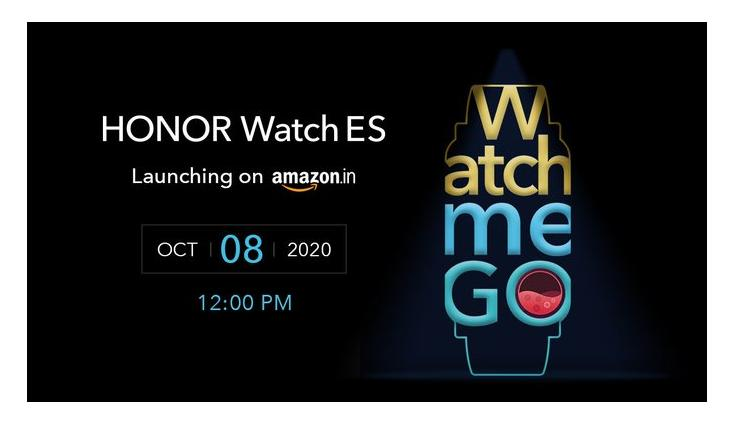 Honor Watch ES to launch in India on October 8