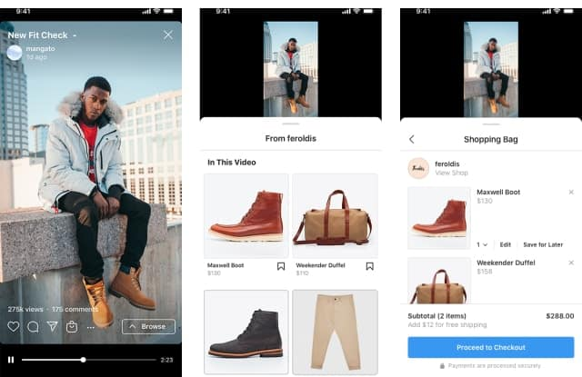 Instagram expands shopping to IGTV, coming to Reels soon